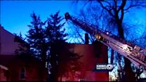 Fire crews battle 2-alarm fire in northeast KC