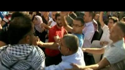 Clashes in Ramallah