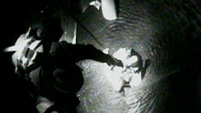Raw Video: Fishing boat sinks, crewman missing