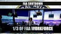 Government shutdown: 15,000 FAA employees furloughed