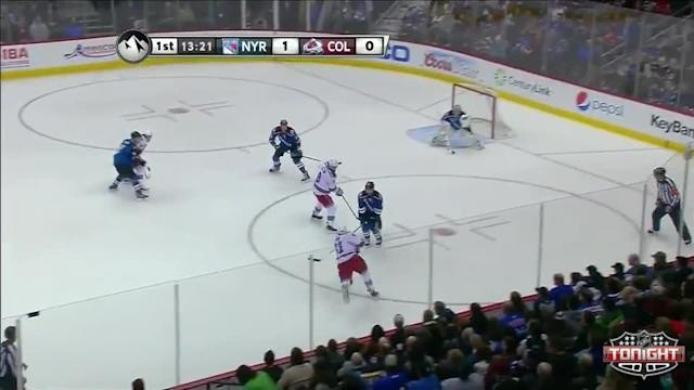NY Rangers Rangers at Colorado Avalanche - 04/03/2014
