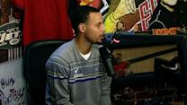 Stephen Curry stops by Boomer and Carton