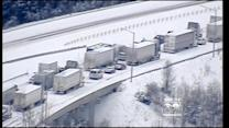 Chicago Family Stranded On Snowy Interstate