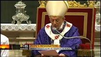 "Pope Benedict will be ""hidden to the world"""