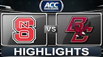 NC State vs Boston College | 2013 ACC Football Highlights