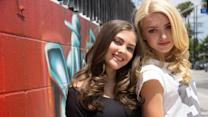 Besties - Peyton List and Her Bestie Kaylyn Hang out at the Star's Home in Sunny L.A.