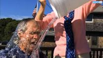 Ice Bucket Challenge Reaches Bush, Clinton