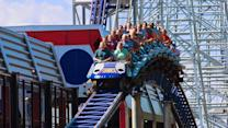 Take a ride on Cedar Point's Millennium Force roller coaster