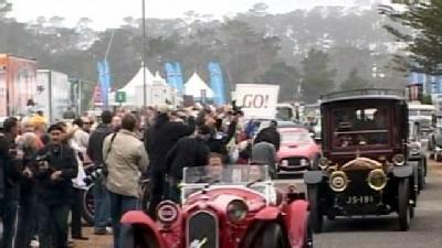 Parade Of Classic, Luxury Cars Featured At Tour D'Elegance