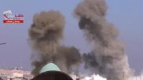 Raw: Shelling in Syria's Largest City