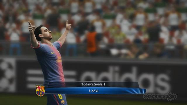 FC Barcelona vs. Real Madrid - PES 13 Gameplay