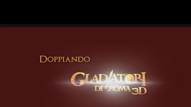 Gladiatori di Roma 3D - backstage