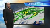 Matt's Friday Morning Video Forecast