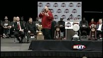 Jeff Walz thanks fans for support