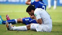 Suarez punishment reaction