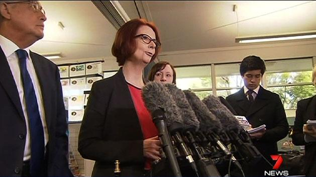Gillard holds firm on leadership