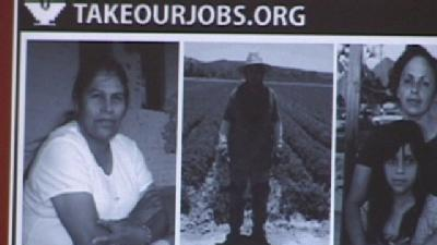 United Farm Workers Issue Job Challenge