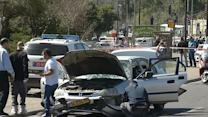 Driver rams car into crowd in Jerusalem