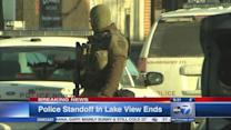 Barricade situation ends in Lakeview; suspect in custody