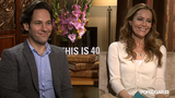 Leslie Mann and Paul Rudd Dish on Their This Is 40 Stoner Scene