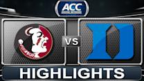 Florida State vs Duke | 2014 ACC Basketball Highlights