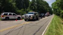 Raw: Emergency Crews Respond to Jet Crash in SC