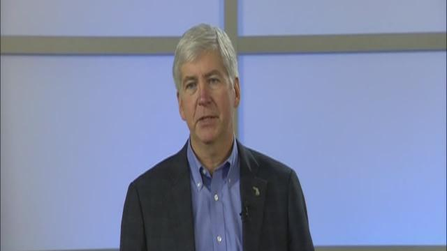 Governor Snyder declares financial emergency in Detroit