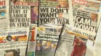 Britons welcome failed Syria vote