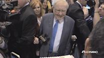 Buffet's 50th anniversary cake