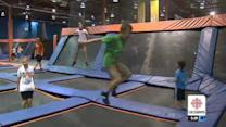 Warning against trampoline injuries