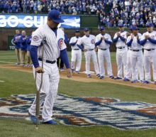 Kyle Schwarber added to Cubs' World Series roster