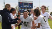 Navy's Seabrook wins Patriot League Rockin' Refuel Performance of the Week