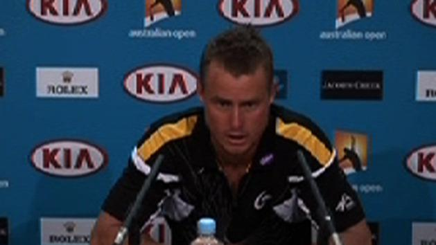 Post Match Interview: Lleyton Hewitt