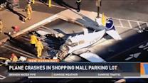 Small plane crashes in Calif. Costco parking lot