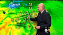 Saturday AM Forecast: A Mild Weekend With A Few PM Storms Sunday