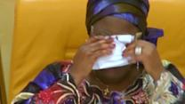 Tears and anger over kidnapped Nigerian school girls