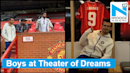 Chahal, Shanker and Karthik visits iconic Manchester United stadium