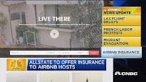 CNBC update: Allstate to cover Airbnb hosts