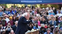 Animal-Rights Activists Rush Podium at Sanders Rally