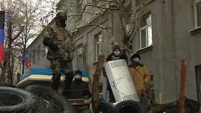 All eyes on embattled Slaviansk