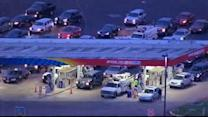 Lines, tempers seen at NY gas stations after Sandy