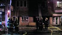 4 injured in fast-moving Kensington fire