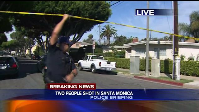 2 Shot in Alley Near Santa Monica College