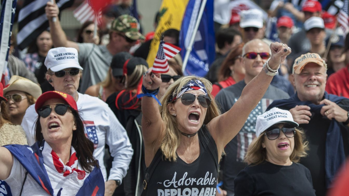 Angry over U.S. healthcare fail, Trump voters spare him blame