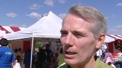Rob Portman, Bill Clinton Bring Senate Race To Cincinnati
