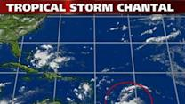 Tropical Storm Chantal Heads to Caribbean