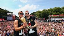 Germany's World Cup Team Welcomed Home