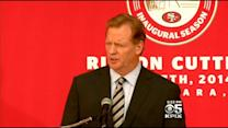 NFL Commissioner Goodell Skips 49ers Home Opener Amid Controversy