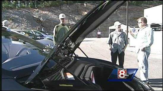 Electric car expo held on Falmouth