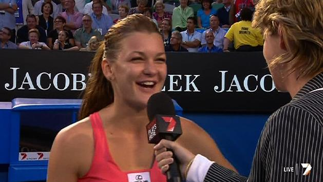 Post Match Interview: Agnieszka Radwanska